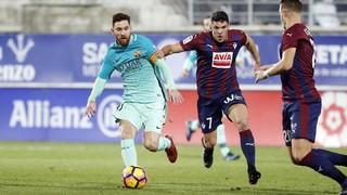 Eibar 0 - FC Barcelona 4 (3 minutos)