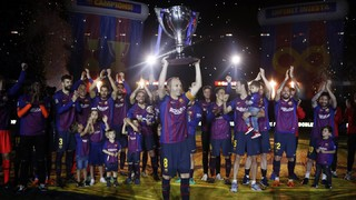 Alors qu'il vient de remporter son 25ème titre en Liga, le Barça conclut cette saison avec des chiffres record, dès la première année de Valverde