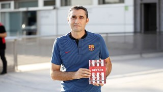 The Barça manager speaks the day before meeting a club that he coached on two occasions, and is joined in the pressroom by a very confident sounding Paulinho