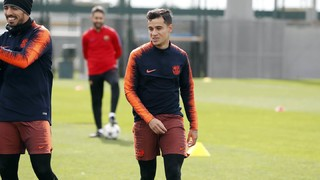 This is how Coutinho prepares for El Clásico