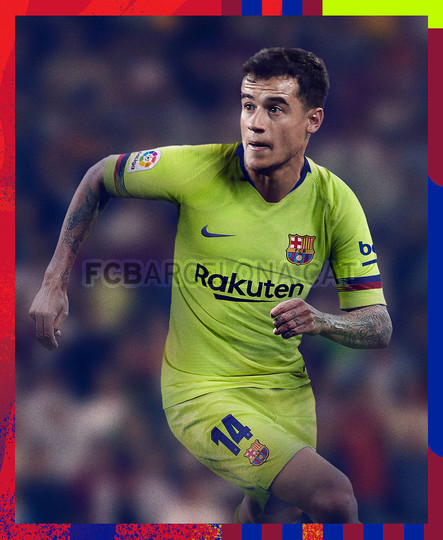 الأصفر لون قميص برشلونة الثاني لموسم 2018-2019 91891127