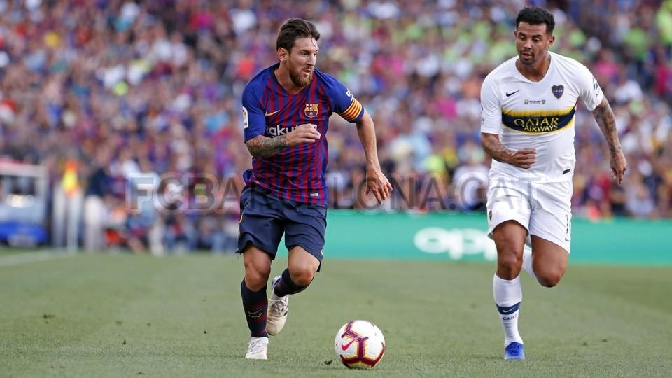 صور مباراة : برشلونة - بوكا جونيورز ( 16-08-2018 )  95974328