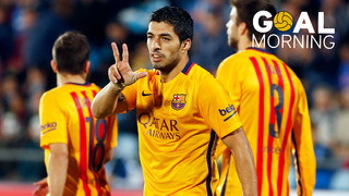 Goal Morning! Do you remember this goal by Luis Suárez?