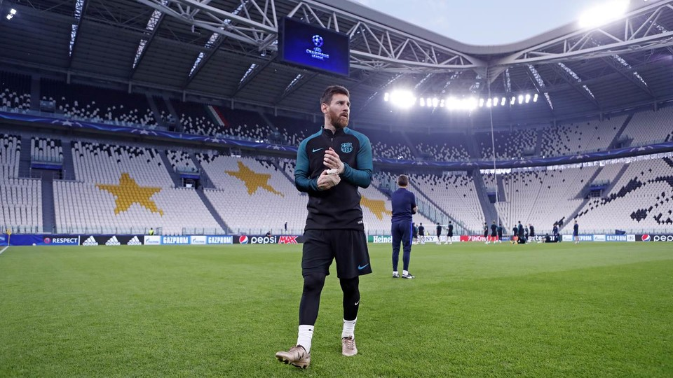 Persiapan akhir di Juventus Stadium - FC Barcelona
