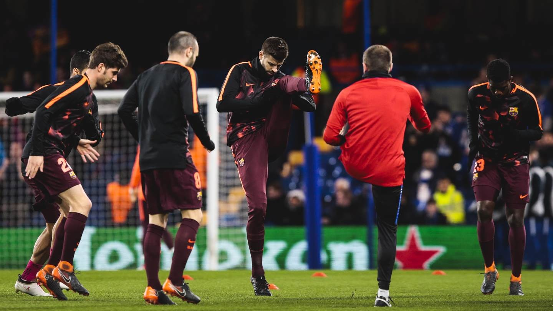 [Ảnh] Chelsea - Barça (1-1)