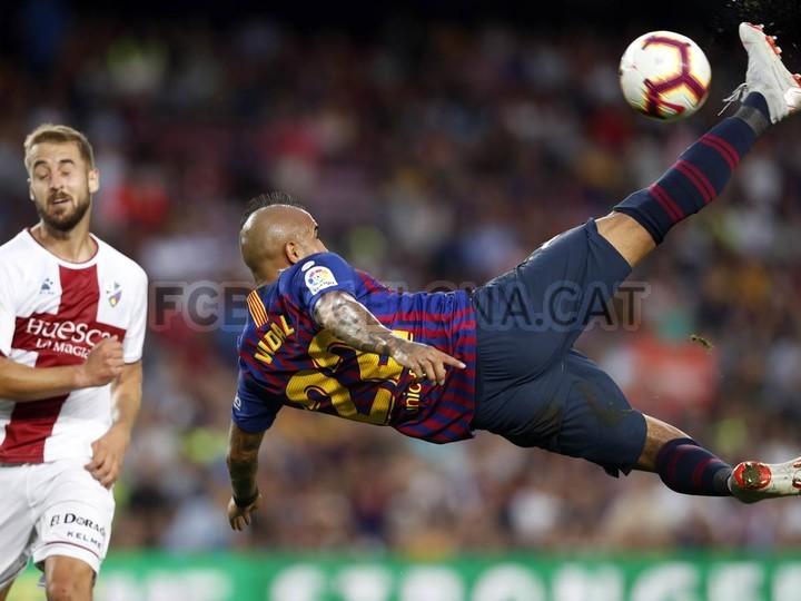صور مباراة : برشلونة - هويسكا 8-2 ( 02-09-2018 )  97434810