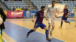 Santiago Futsal 2 - FC Barcelona Lassa 3 (Liga)