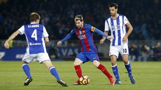 Reial Societat 1 - FC Barcelona 1 (3 minuts)