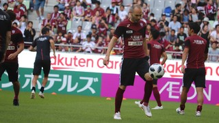 Midfielder appears in first ever game for a club other than FC Barcelona, but his side tumble to a costly 3-0 home defeat in their J-League fixture