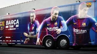 Découvrez le bus qui sera présent aux États-Unis durant les dix prochains jours