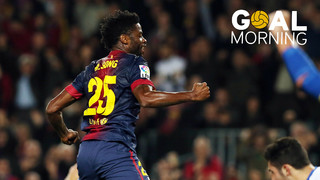 ¡Goal Morning! ¿Recuerdas este gol de Alex Song?