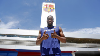 Jalen Reynolds, reinforcement for Barça Lassa