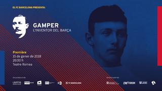 """""""Gamper, l'inventor del Barça"""", un documental sobre el fundador del Club"""