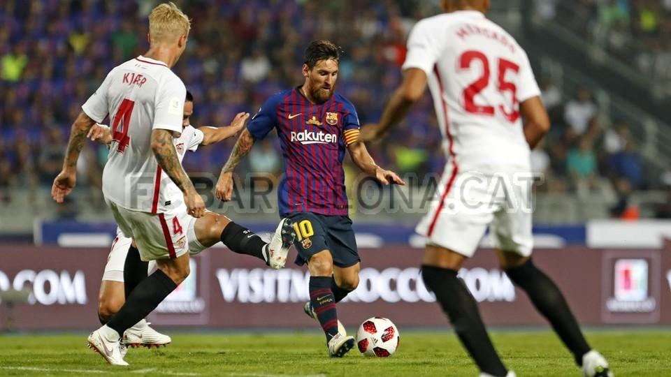 صور مباراة : برشلونة - إشبيلية 2-1 ( 13-08-2018 )  95762876