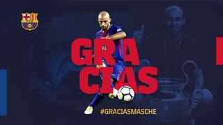 El jugador argentino se despedirá del FC Barcelona este miércoles a las 11 horas en el Auditori 1899