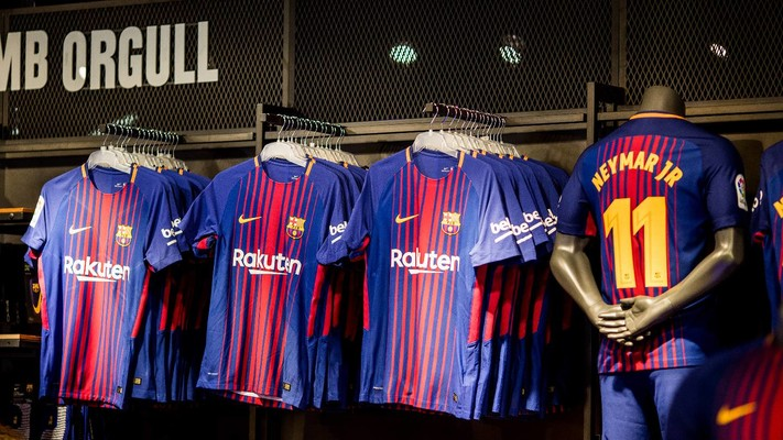 The New Nike Shirt For FC Barcelona For FC Barcelona - Barcelona colors