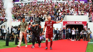 Andrés Iniesta formally presented at Vissel Kobe in Japan