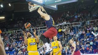 FC Barcelona Lassa 76 - Maccabi 71 (Euroleague)