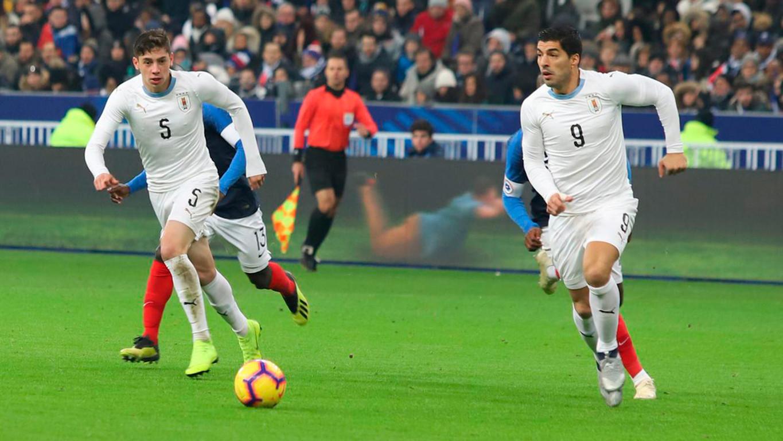 Suárez i Arthur han estat titulars en els partits disputats per les seves respectives seleccions