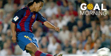 GOAL MORNING!!! This goal from Ronaldinho ring a bell? It was tonight in 2003