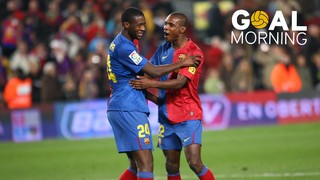 Goal Morning! Yaya Touré es disfressa de Messi!
