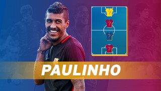 My Top 4: Paulinho reveals his heroes