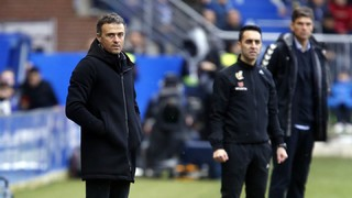 "Luis Enrique: ""Aleix Vidal's injury is clearly the sad point of today's game"