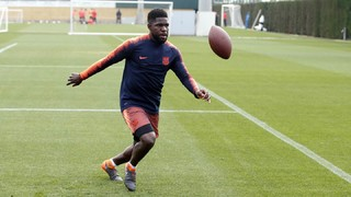 Secret Box: Umtiti's challenge