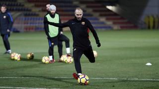 Valverde ha hecho pública la lista de los jugadores convocados para afrontar el partido ante el Dépor este domingo en el Camp Nou