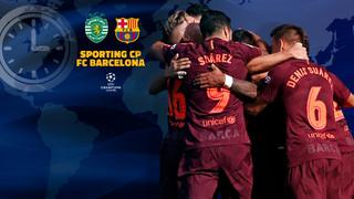 Panduan siaran televisi di seluruh dunia untuk laga kedua penyisihan grup Liga Champions