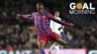 GOAL MORNING! Do you remember this great Samuel Eto'o goal against Racing?