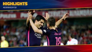 Granada 1 - FC Barcelona 4 (1 minute)