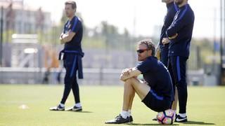 Luis Enrique anima a la afición a llenar el Miniestadi para apoyar al Barça B