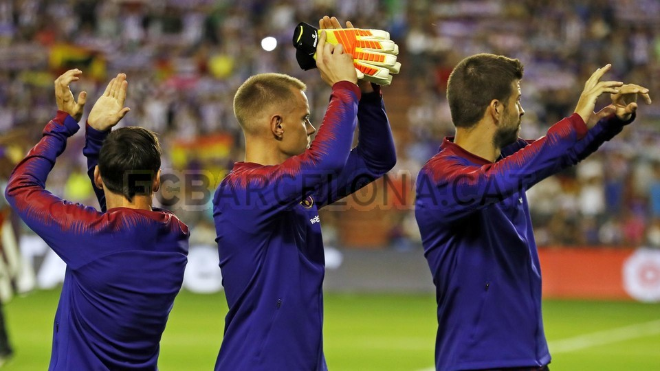 صور مباراة : بلد الوليد - برشلونة 0-1 ( 25-08-2018 )  96768449