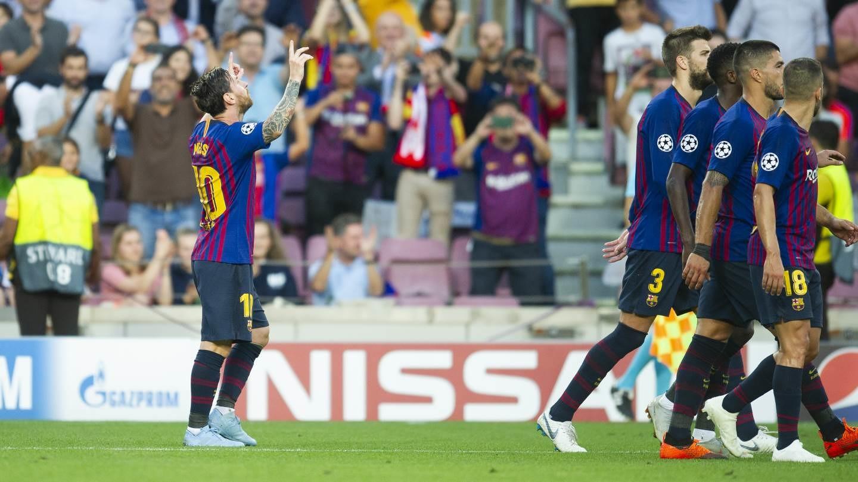 صور مباراة : برشلونة - PSV إندهوفن 4-0 ( 18-09-2018 )  98884290