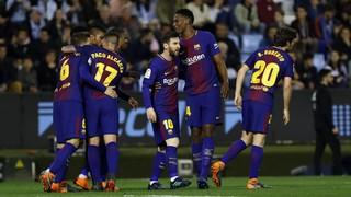 Celta de Vigo 2 - FC Barcelona 2