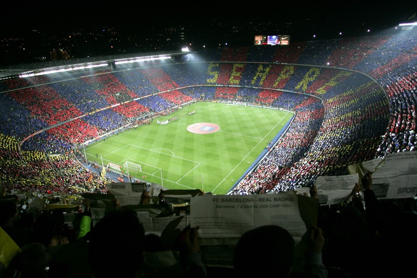 a top rated stadium - fc barcelona