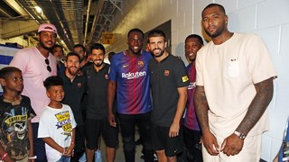 The NBA comes to see Barça