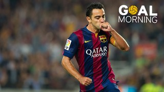 Start the day off with this goal from Xavi Hernández against Eibar