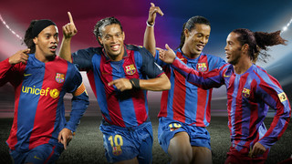 Do you remember Ronaldinho's top ten moments at the Camp Nou?