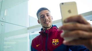 Behind the scenes at Lenglet's presentation