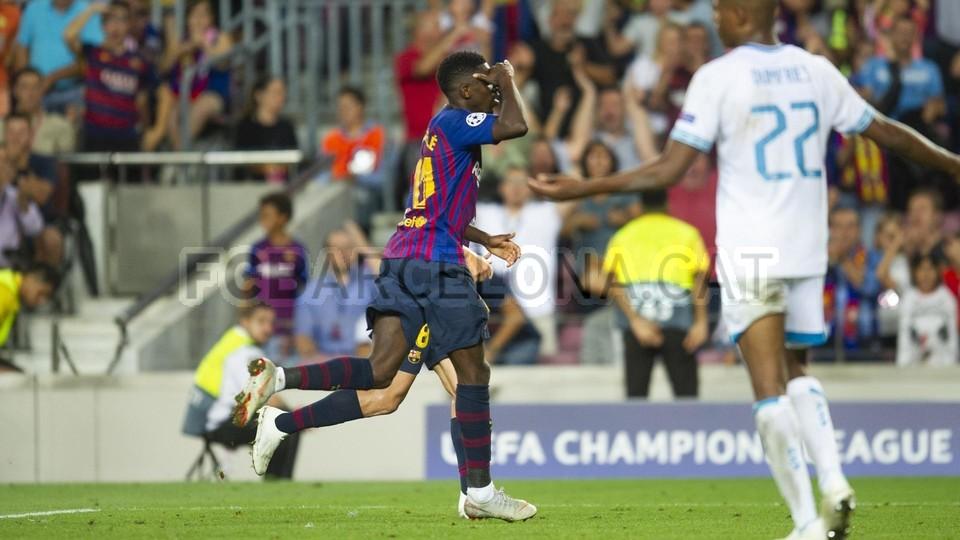 صور مباراة : برشلونة - PSV إندهوفن 4-0 ( 18-09-2018 )  98901700