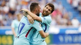 Alavés 0 - FC Barcelona 2 (3 minutos)