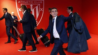 Inside view of Ernesto Valverde's return to San Mamés