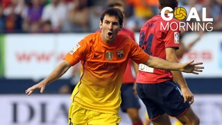 Goal Morning! Els dilluns són millors amb els gols de Messi!