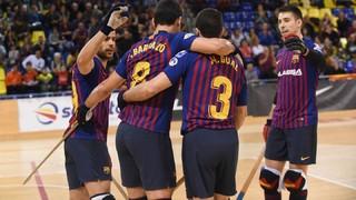 Barça Lassa – Club Patí Vic: ¡Continúa el pleno de victorias! (5-0)