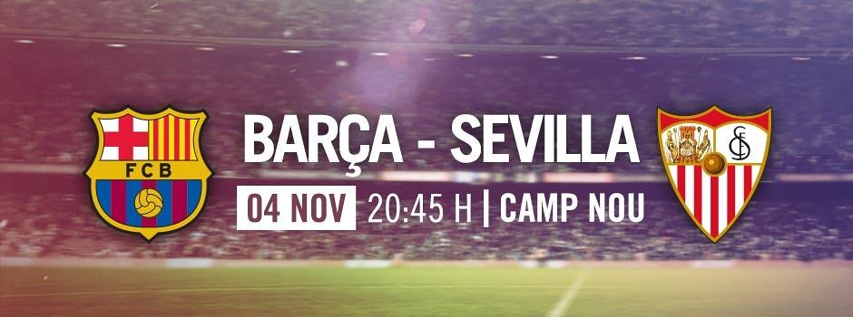 Entrades oficials Barça VS Sevilla
