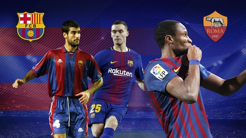 Los futbolistas que han jugado tanto en el Barça como en la Roma ...