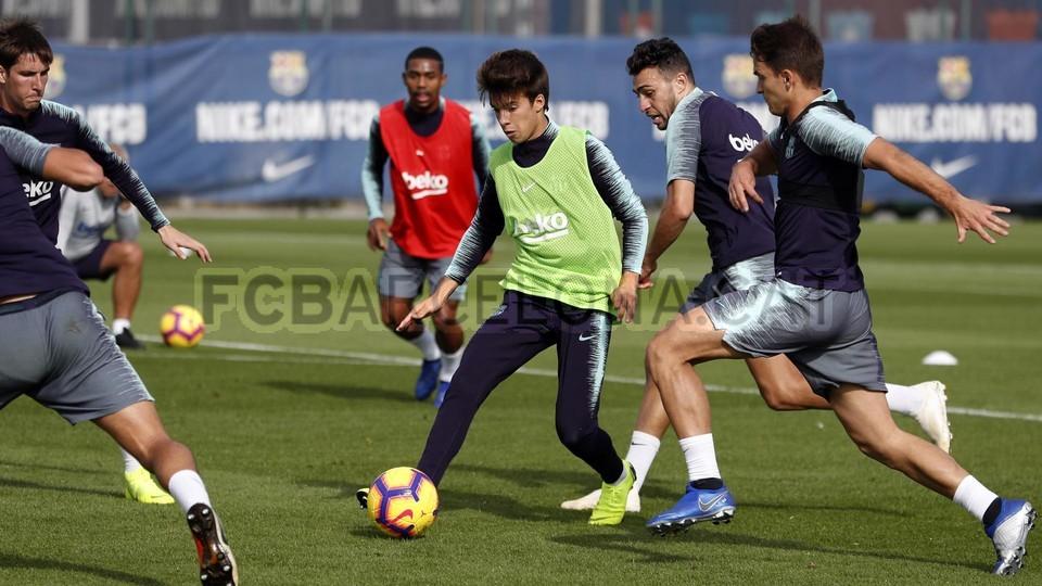إستعدادات برشلونة لمباراة الكلاسيكو 26-10-2018 101593287