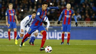 Real Sociedad 0 - FC Barcelona 1 (1 minuto)